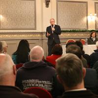 New party formed by ex-Sinn Féin TD Peadar Tóibín to be called 'Aontú'