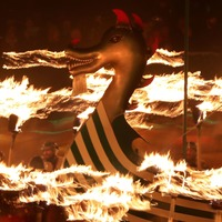 In Pictures: Viking fire festival lights up Shetland