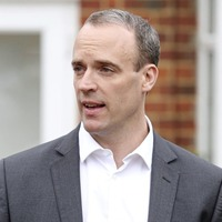 Dominic Raab says he was advised not to stop at border during visit