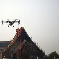 Bangkok using water-spraying drones and planes to try to cut air pollution