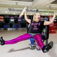 Zumba and a toddler keep actress Caroline Curran fit