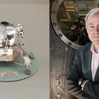 'Living the dream': Museum curator's boyhood space model inspires the internet