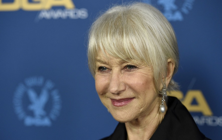 Dame Helen Mirren among the stars to hit red carpet for DGA