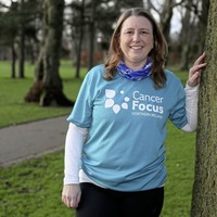 Mum-of-two runs her first marathon for charity after breast cancer diagnosis