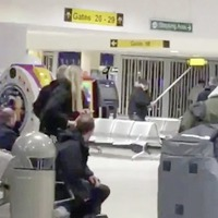 'Absolute mayhem' during departures brawl at Belfast International Airport