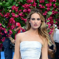 Lily James: Growing up in a house where tempers rose quickly made me explosive