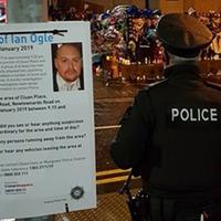 Ian Ogle: Police revisit scene of murder