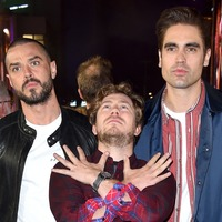 Busted in the running to land their first number one album