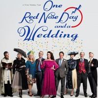 First photo as cast of Four Weddings And A Funeral return for Red Nose Day