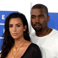 Kim Kardashian shares sweet picture of daughter napping on Kanye's head