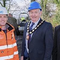 Work begins on new 600m walkway in Maghera