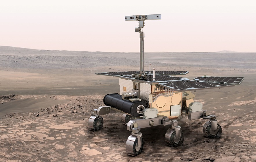 More than 36,000 entries were received in the naming competition for the Exo Mars mission