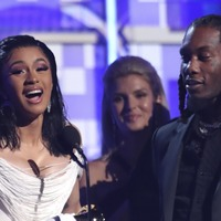 Cardi B becomes first solo female to win best rap album at Grammys