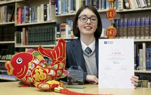 Derry pupil named 'best Mandarin speaker'