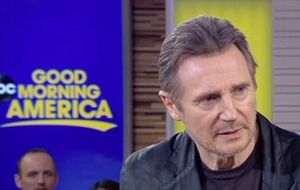Liam Neeson film makes $11m in opening weekend despite race row