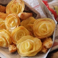 Chippy announces 'fish and chips bouquet' as Valentine's Day special