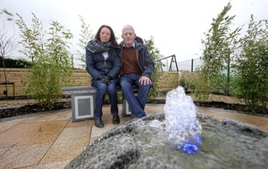 Meditation garden designed by landscape gardener killed in hit-and-run unveiled in Co Antrim