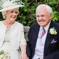 Elderly couple married after falling in love in care home