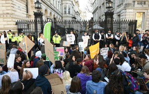 In Pictures: Pupils skip school to stage climate change protests