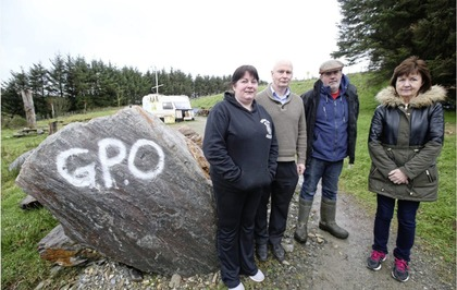 Tyrone residents voice gold mine concerns