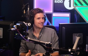 Greg James trapped in locked room by BBC