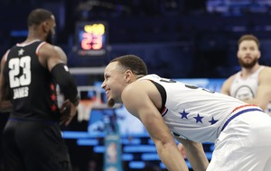 Steph Curry's bounce pass alley-oop leaves viewers in awe at NBA All-Star 2019