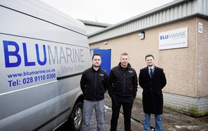 Belfast-headquartered Blu Marine opens new Scotland office