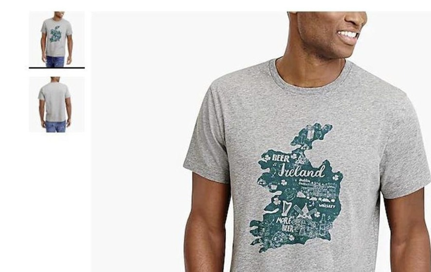 1191e8ad American clothing company removes controversial St Patrick's Day t-shirt  from sale
