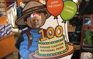 Meet the 103-year-old who just became a Grand Canyon junior ranger