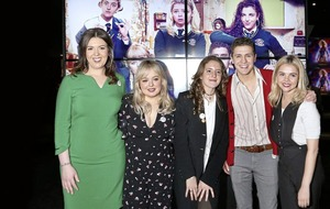 Derry Girls get the red-carpet treatment in home city for series two premiere
