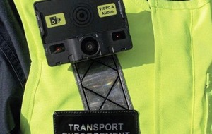DVA enforcement officers begin to use body worn video cameras