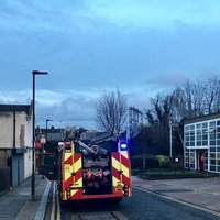 Fire Brigade alerted to kitchen blaze by 'home owner knocking on station door'