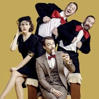 The 39 Steps returns for more madcap spy capers at Lyric