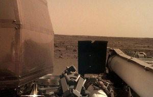 Towering dust devils shake up Martian probe