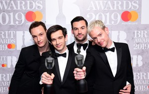 In Pictures: Brit winners show off their awards
