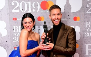 Women snubbed at Brits as Calvin Harris and The 1975 celebrate two wins each