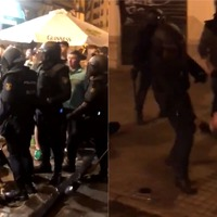 Celtic fans as young as 15 'injured by police in Valencia'