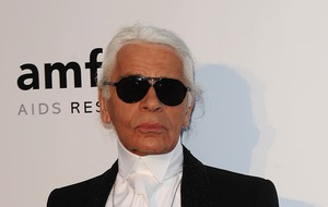 Fendi ends fashion show with tribute to Karl Lagerfeld