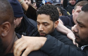Jussie Smollett released on bond after accusation he staged attack over salary