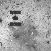 Japanese spacecraft touches down on distant asteroid