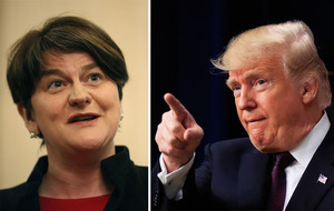 Arlene Foster to visit Washington DC ahead of St Patrick's Day