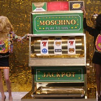 Moschino turned its Milan Fashion Week catwalk into an incredible TV game show