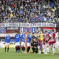 Rangers fans continue sectarian chants despite club's apology