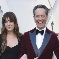 Richard E Grant and Bradley Cooper among stars who took family to the Oscars
