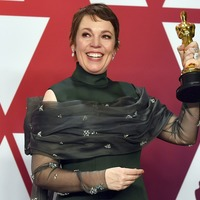 Olivia Colman says she'll keep her Oscar in bed 'between me and my husband'
