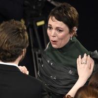 'Oh my God!' – David Mitchell leads reaction to Olivia Colman's Oscar triumph