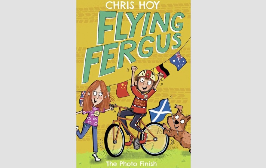 Cycling superstar and children's author Sir Chris Hoy on