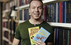 Cycling superstar and children's author Sir Chris Hoy on parenting and hard work