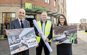 Co Antrim fit-out firm McCue wins £500k contract with Belfast's leading hotel group