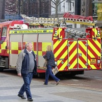 Fire crews called to blaze at The Body Shop in Belfast city centre